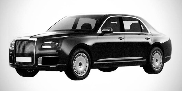 The standard version of the new Russian car was revealed in images from a patent application.