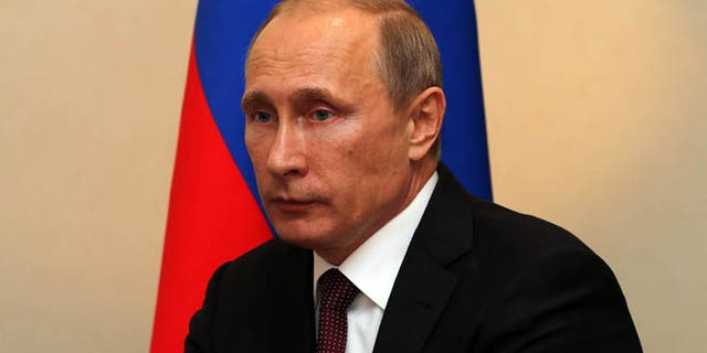 June 24, 2014: Russian President Vladimir Putin is shown in Vienna, Austria.