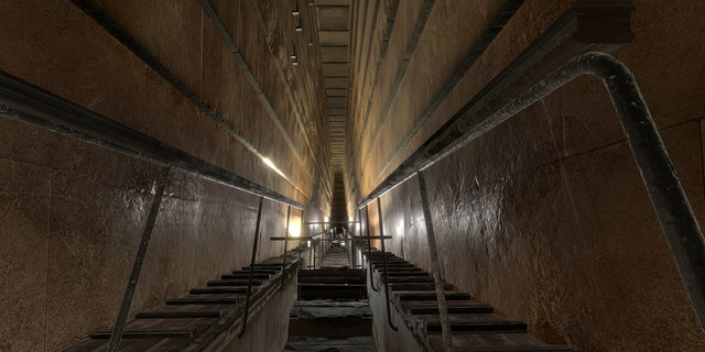 The Grand Gallery of the Great Pyramid