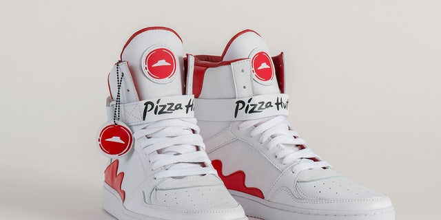 Pizza Hut is only producing 64 pairs of their limited-edition Pie Tops.