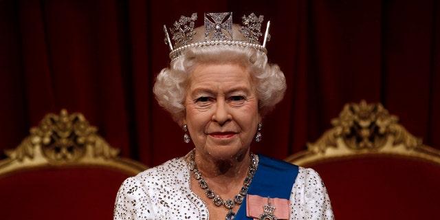 Queen Elizabeth II at Madame Tussauds.