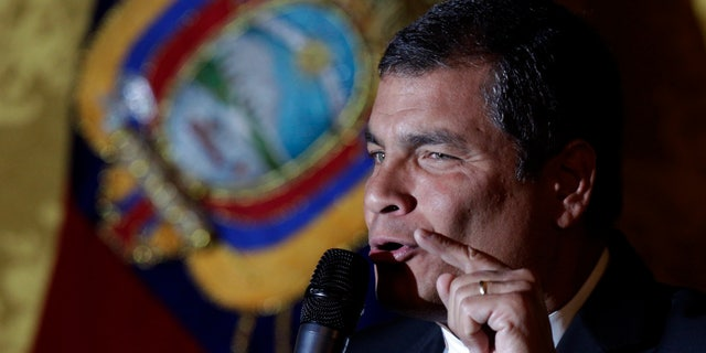 Ecuador's President Rafael Correa is an outspoken critic of the U.S.
