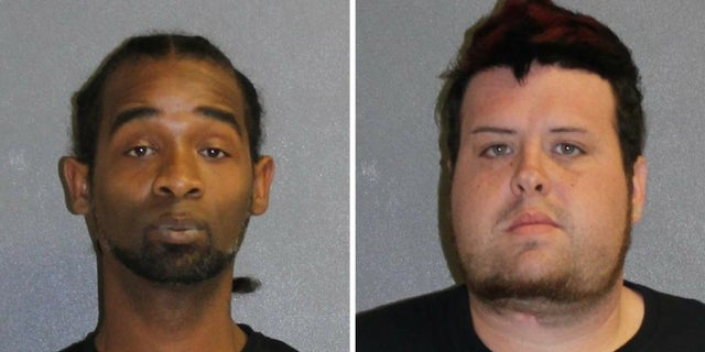 Derrick Irving, 36, and John Silva, 28, were both arrested after attempting to steal from a home and then erase the evidence with a fire started by a burning pot of Ragu sauce, police said.
