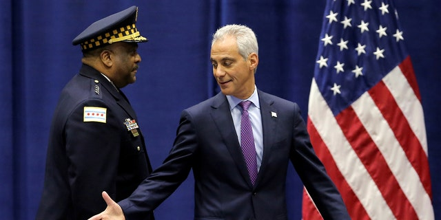 The move comes in response to the Chicago Police Board's recent decision to put Officer Robert Rialmo on a no-pay status for a 2015 fatal shooting that was deemed unjustified by the board—but was ruled justified by Chicago Police Department Superintendent Eddie Johnson (left).