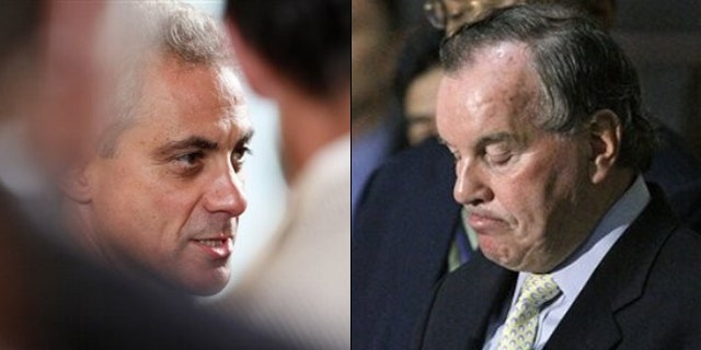 White House Chief of Staff Rahm Emanuel may be considering a run for the top job in Chicago after Mayor Richard Daley announced he would not seek re-election. (AP)