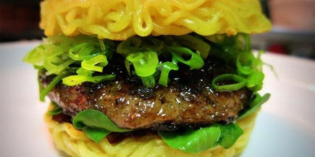 Meet the latest food craze since the cronut: the ramen burger. .