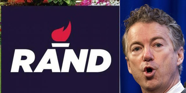 Critics say Kentucky Sen. Rand Paul's simple red flame logo is too bland.