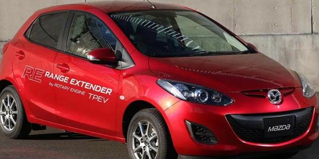 Mazda EV prototype
