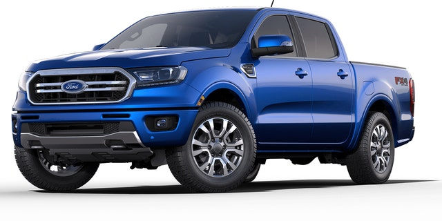 The FX4 package adds off-road equipment to any 4x4 Ranger.