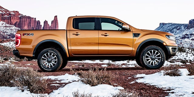 The 2019 Ranger remains a traditional body-on-frame pickup design.