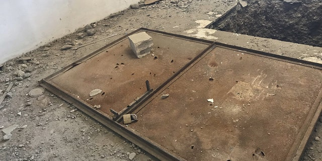ISIS tunnels were built all through the decimated city of Raqqa