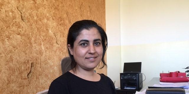Leila Mustafa, co-chair of the Raqqa Civilian Council