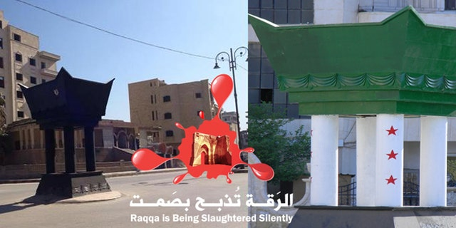 Photos secretly taken from inside Raqqa show empty streets in a city living in fear of ISIS (Raqqa is being Slaughtered Silently)