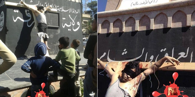 Enemies of the caliphate are executed in public, but taking a picture brings a death sentence. (Raqqa is Being Slaughtered Silently)