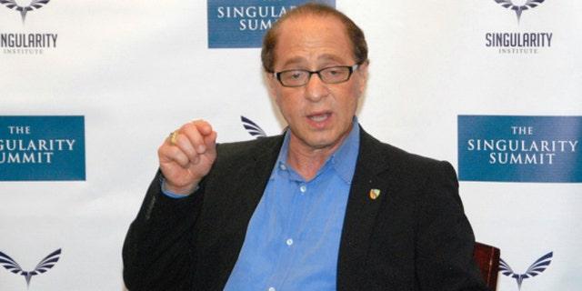 Google's new director of engineering, famed futurist Ray Kurzweil.