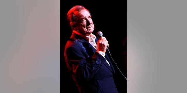 March 10, 2007. Ray Price performs at the Aladdin Theater for the Performing Arts in Las Vegas.