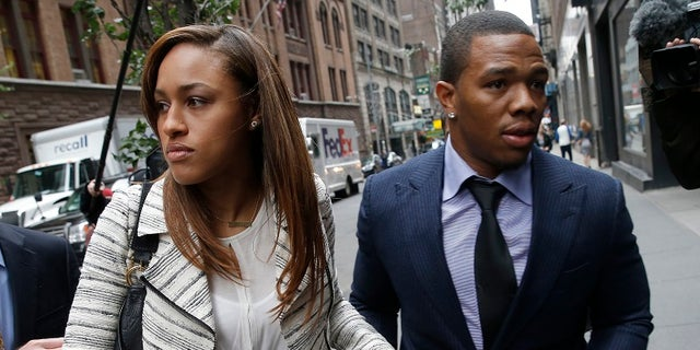 Ray Rice was captured on video knocking out his then-fiancee Janay Palmer.