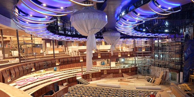 Symphony of the Seas is currently under construction in France.