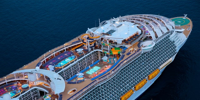 The Symphony of the Seas will eclipse its sister ship, Harmony of the Seas, in gross tonnage.