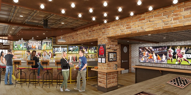 The Symphony of the Seas will feature a sports bar in its Boardwalk neighborhood.