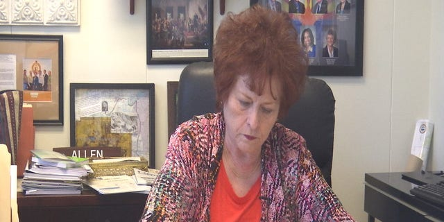Senator Sylvia Allen, of Arizona's 6th Congressional District, sponsored the bill  expanding recess in her state's schools.