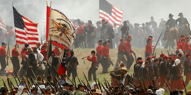 The city of Manassas said it has canceled next week's annual Civil War re-enactment weekend for safety purposes.
