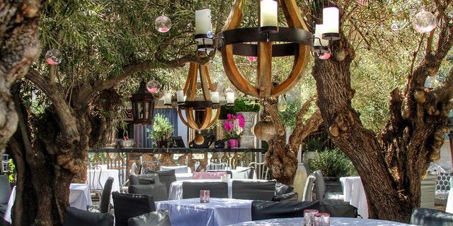 "Lisa Vanderpump of Bravo's ""Real Housewives of Beverly Hills"" owns this popular neighborhood eatery."