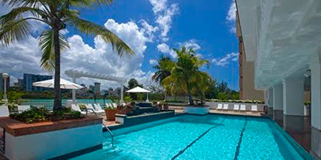 Enjoy a rum and coke poolside with some authentic Puerto Rican Bacardi rum.