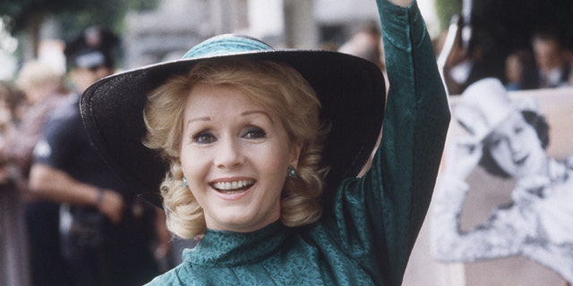 In this Feb. 15, 1984, file photo, actress Debbie Reynolds appears at Hollywood Walk of Fame ceremonies in Los Angeles.