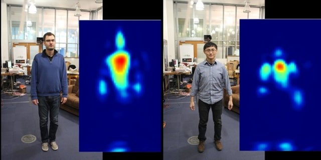The RF-Capture device can track people's movements through walls.