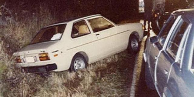A photo of the Dec. 23, 1981, crime scene.