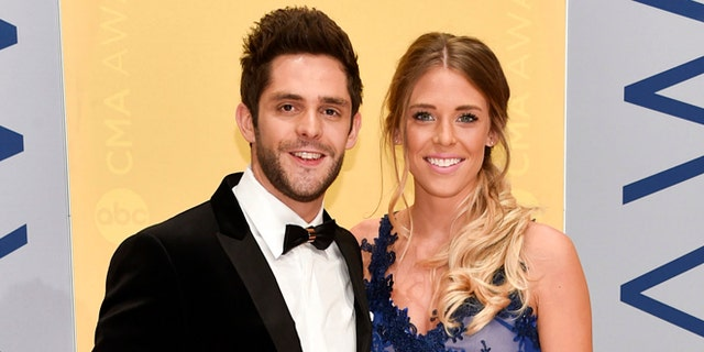 Thomas Rhett and wife Lauren shared a photo on social media of newly adopted daughter Willa.