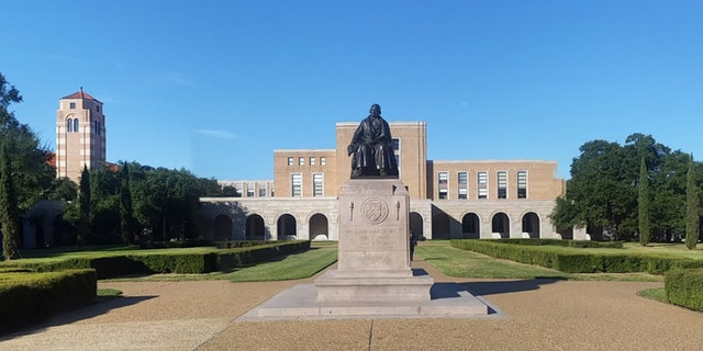 Rice University's campus is located in Houston, Texas.