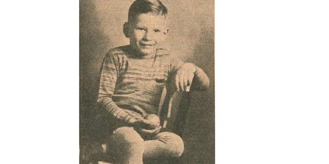 Old newspaper clipping of Richard Streicher Jr. (Robison-Bahnmiller Funeral Home)
