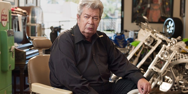 Richard Harrison was the grizzled and seasoned 'Old Man'.