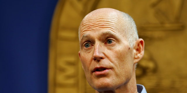 Florida Gov. Rick Scott in August 2016.