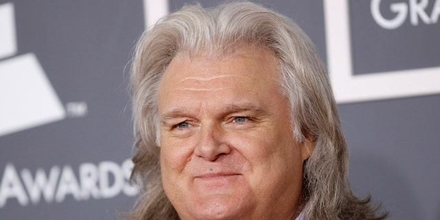 February 13, 2011. Country music artist Ricky Skaggs arrives at the 53rd annual Grammy Awards in Los Angeles, California.