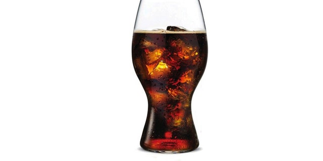 A new glass aims to enhance the flavor of Coca-Cola.