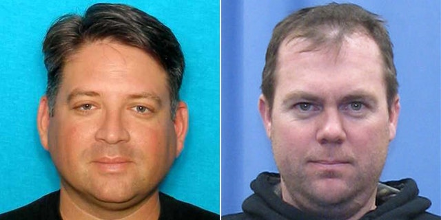 TV personality Gregory Rodriguez, left, who was shot and killed by Wayne Bengston, right.