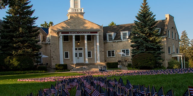 "Rippon College tweeted: ""The annual 9/11 flag memorial is a great example of how YAF students engage the entire community."""