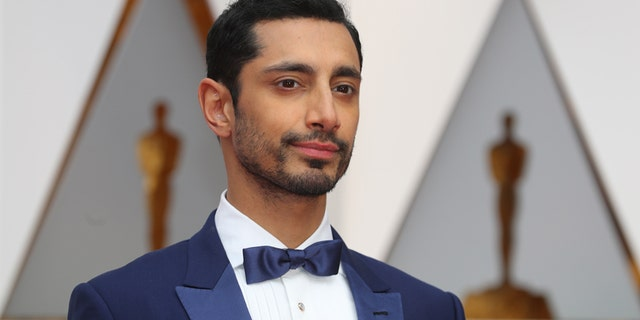 "Riz Ahmed arrives at the 89th Academy Awards in Hollywood, California on Feb. 26, 2017. The ""Rogue One: A Star Wars Story"" actor says he's frequently profiled at airports and is concerned with the safety of Muslims in the world."