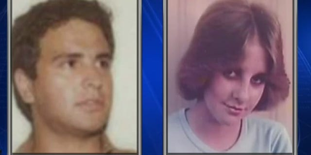 Old photos of Robert Van Wisse and Laurie Stout. (Fox 7 Austin)