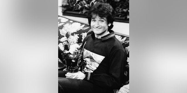 """Williams first became a household name in 1978 as Mork, the alien, in the hit ABC show """"Mork and Mindy."""""""