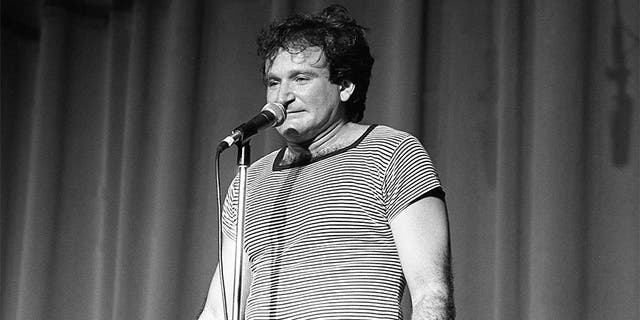 Robin Williams loved entertaining American troops.