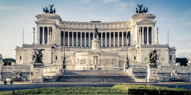 """The historic site, also called Monumento Nazionale a Vittorio Emanuele, is a tribute to Victor Emmanuel II, the first king of Italy after the country's unification, and houses the """"tomb of the unknown soldier."""""""