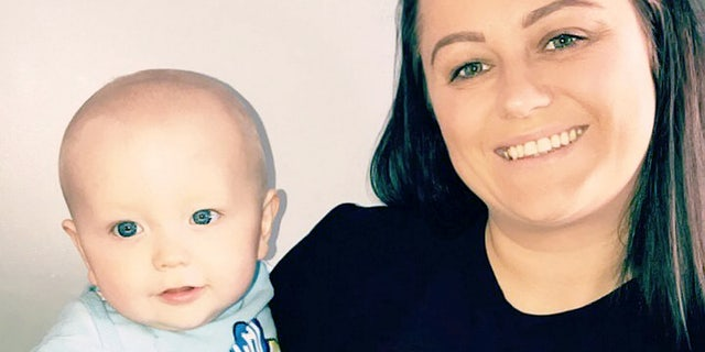 """""""I didn't have any symptoms from my cancer so if I hadn't been pregnant I may not have found out about it until a later stage, """" the grateful mother told SWNS."""