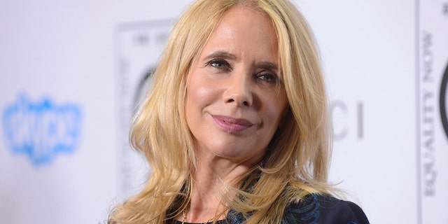 "Actress Rosanna Arquette attends the ""Make Equality Reality"" event held in Beverly Hills, California November 3, 2014."