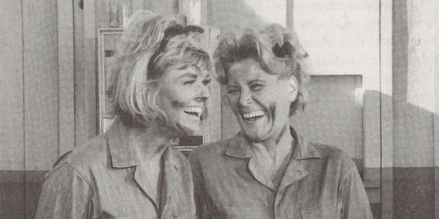 Doris Day (left) and Rose Marie.