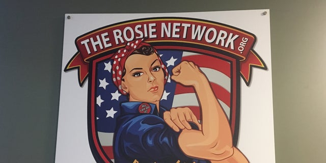 The logo of the Rosie Network.