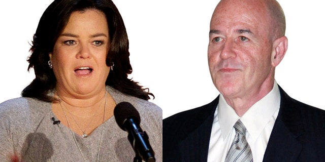 "Bernard Kerik (right) tweeted, ""Will @Rosie be held to the same standard as @DineshDSouza for illegally exceeded campaign contribution limits?"""